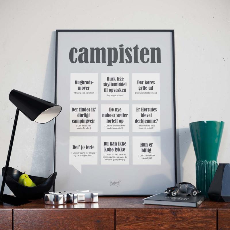 Dialægt plakat - Campisten- A5