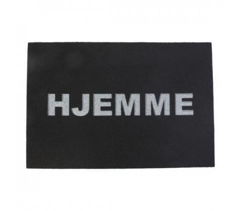 Billede af Dørmåtte - HJEMME - Sort - 60 x 40 cm