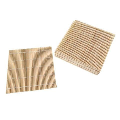Glas brik i bambus – 12 stk