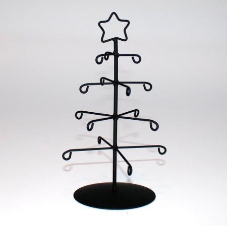 Billede af Elfi juletræ sort - 21 cm H
