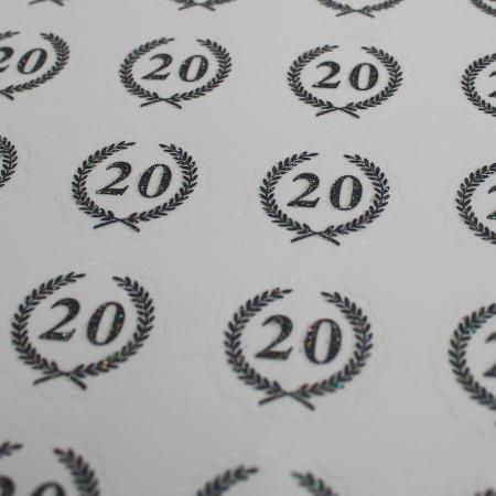 Sølv Oblater 20 år - 40 stk